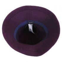 Boiled Wool Floppy Hat in