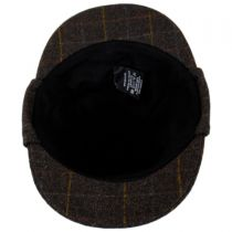 Windowpane Plaid Wool Sherlock Holmes Hat alternate view 12