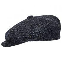 Marl Donegal Tweed Wool Newsboy Cap alternate view 3