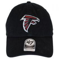 Atlanta Falcons NFL Clean Up Strapback Baseball Cap Dad Hat in