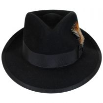 Whippet Fur Felt Fedora Hat in