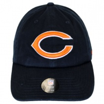 Chicago Bears NFL Clean Up Strapback Baseball Cap Dad Hat alternate view 2
