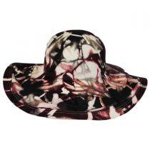 Amines Wool Felt Floppy Hat in