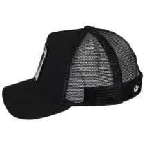 Black Sheep Mesh Trucker Snapback Baseball Cap alternate view 3
