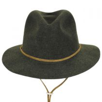 Skylar Wool LiteFelt Chincord Safari Fedora Hat in