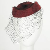 Veil Pillbox Hat in