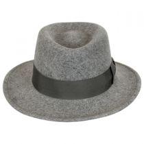 Robin Wool LiteFelt Fedora Hat alternate view 7