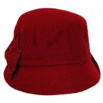 Betty Wool Cloche Hat in