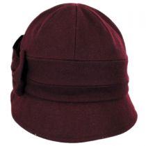 Pippa Soft Wool Cloche Hat in