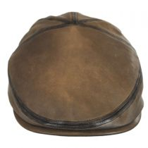 Glasby Lambskin Leather Ivy Cap alternate view 2