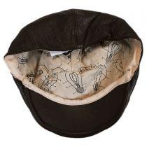 Langham Lambskin Leather Ivy Cap in
