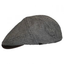 Houndstooth Leather Bill Driver Cap alternate view 3