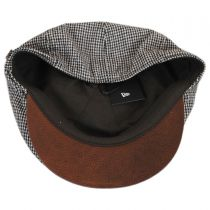 Houndstooth Leather Bill Driver Cap alternate view 4
