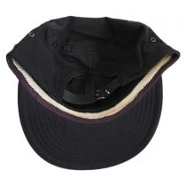 Packable Cotton Military Cadet Strapback Cap alternate view 2