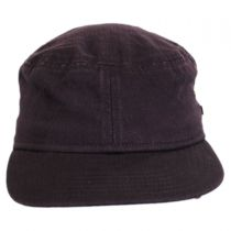 Packable Cotton Military Cadet Strapback Cap alternate view 7