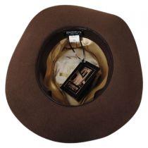 Marseille Wool Felt Fedora Hat in