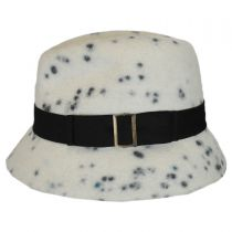 La Rochelle Wool Felt Fedora Hat in