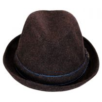 The Barber Wool Blend Trilby Fedora Hat