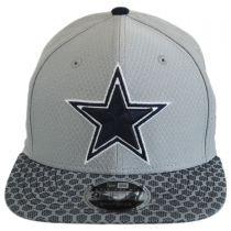 Dallas Cowboys NFL Sideline 9FIFTY Snapback Baseball Cap alternate view 2