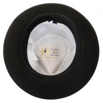 Prescott Fur and Wool Felt Fedora Hat in