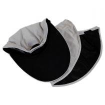 Microfibre Flap Baseball Cap in