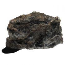 Faux Fur Cadet Cap in