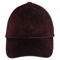 Leff Velvet Micro-Dot Strapback Baseball Cap Dad Hat alternate view 2