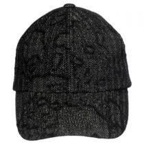 Leff Herrringbone Strapback Baseball Cap Dad Hat alternate view 2
