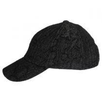 Leff Herrringbone Strapback Baseball Cap Dad Hat alternate view 3