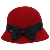 Emma Wool Felt Cloche Hat alternate view 6