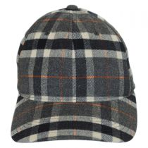 Plaid FlexFit Baseball Cap in