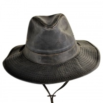 Weathered Cotton Outback Hat in Alt 1