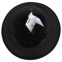 Craven Earflap Wool LiteFelt Trilby Fedora Hat in