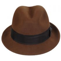 Craven Earflap Wool LiteFelt Trilby Fedora Hat in