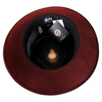 Lanth Polished Wool Felt Fedora Hat alternate view 9