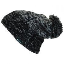 Knit Pom Beanie Hat in