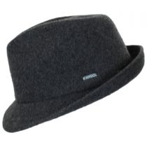 Wool Arnold Trilby Fedora Hat in