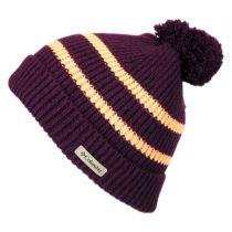 Auroras Lights Pom Knit Beanie Hat alternate view 6