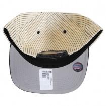 Miami Marlins MLB Woodside Stripe Snapback Baseball Cap alternate view 4