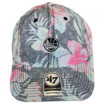 Golden State Warriors NBA Stigma Clean Up Strapback Baseball Cap Dad Hat alternate view 2