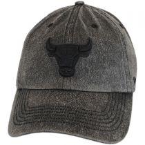 Chicago Bulls NBA Caliper Clean Up Strapback Baseball Cap Dad Hat in