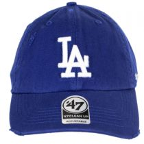 Los Angeles Dodgers MLB Ridge Clean Up Strapback Baseball Cap Dad Hat alternate view 2
