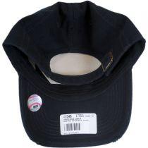 New York Yankees MLB Ridge Clean Up Strapback Baseball Cap Dad Hat alternate view 4