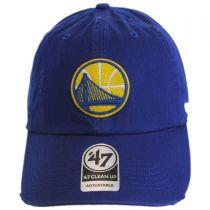 Golden State Warriors NBA Ridge Clean Up Strapback Baseball Cap Dad Hat alternate view 2
