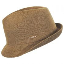 Arnie Bamboo Crushable Trilby Fedora Hat in