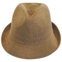 Arnie Bamboo Crushable Trilby Fedora Hat alternate view 22