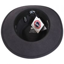 Packable Wool LiteFelt Fedora Hat - VHS Exclusive Color alternate view 4