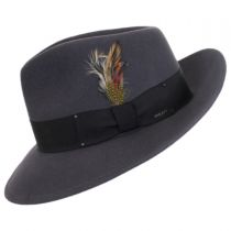 Packable Wool LiteFelt Fedora Hat - VHS Exclusive Color alternate view 19