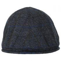 Plaid English Tweed Wool Duckbill Ivy Cap alternate view 2