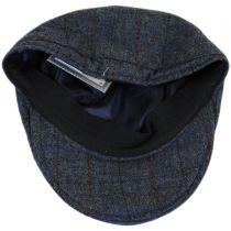 Plaid English Tweed Wool Duckbill Ivy Cap in